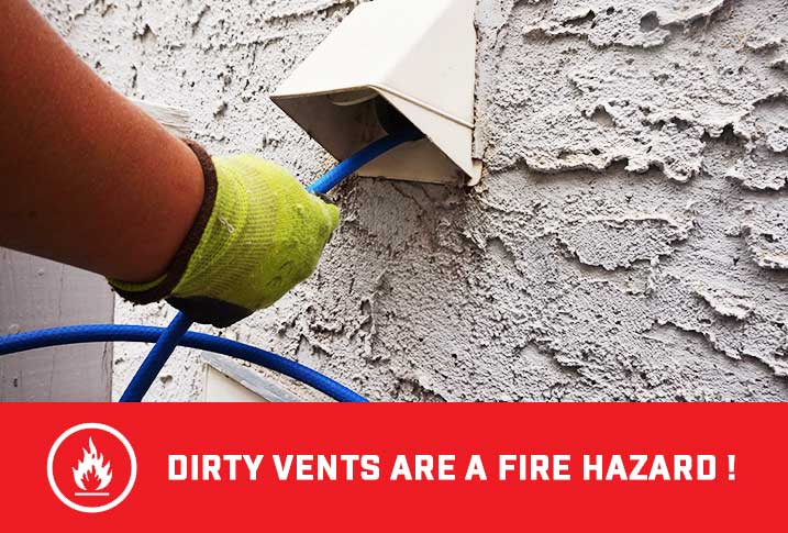 Dirty Dryer Vent Cleaning